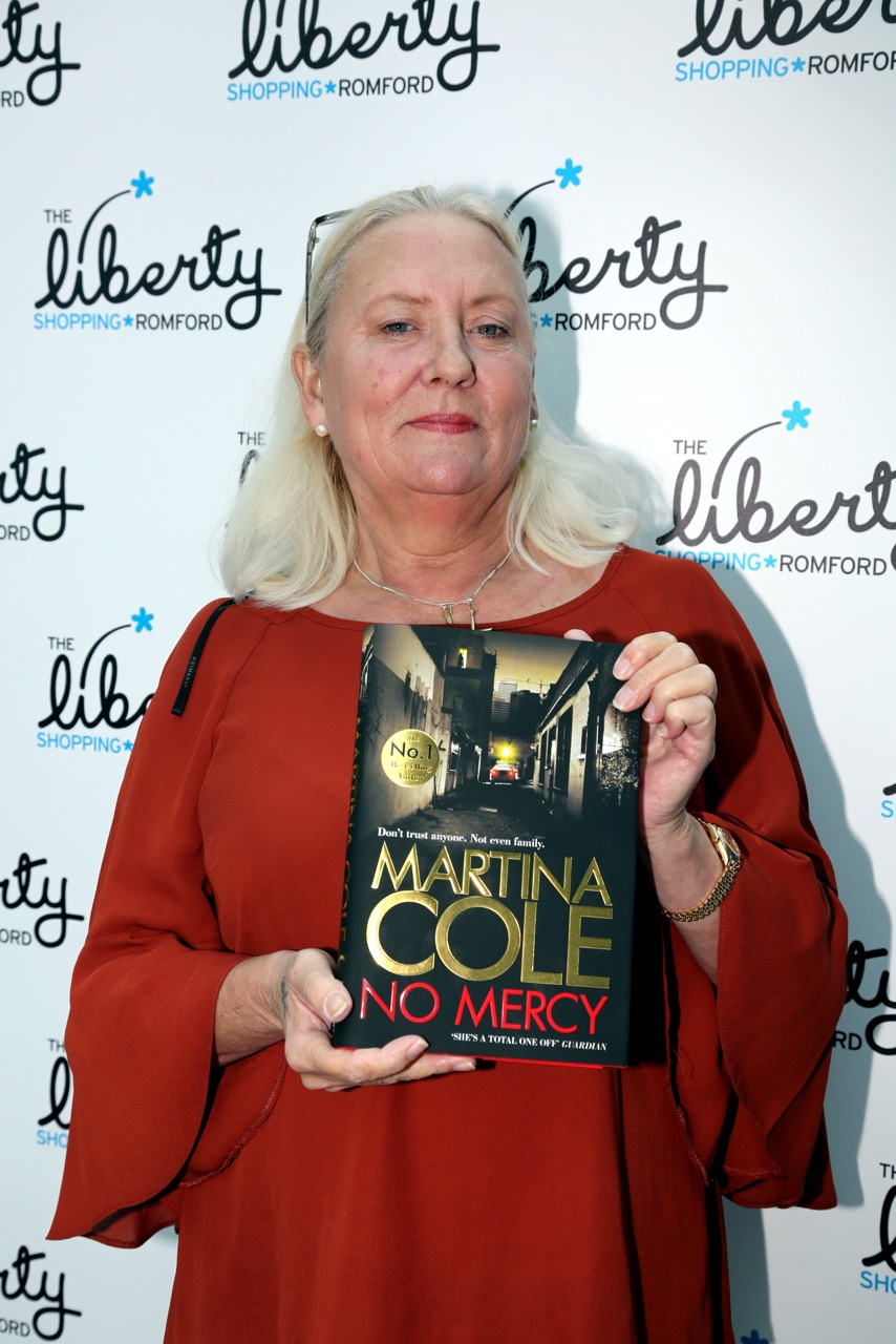 Martina Cole (Photo by Sandra Rowse)