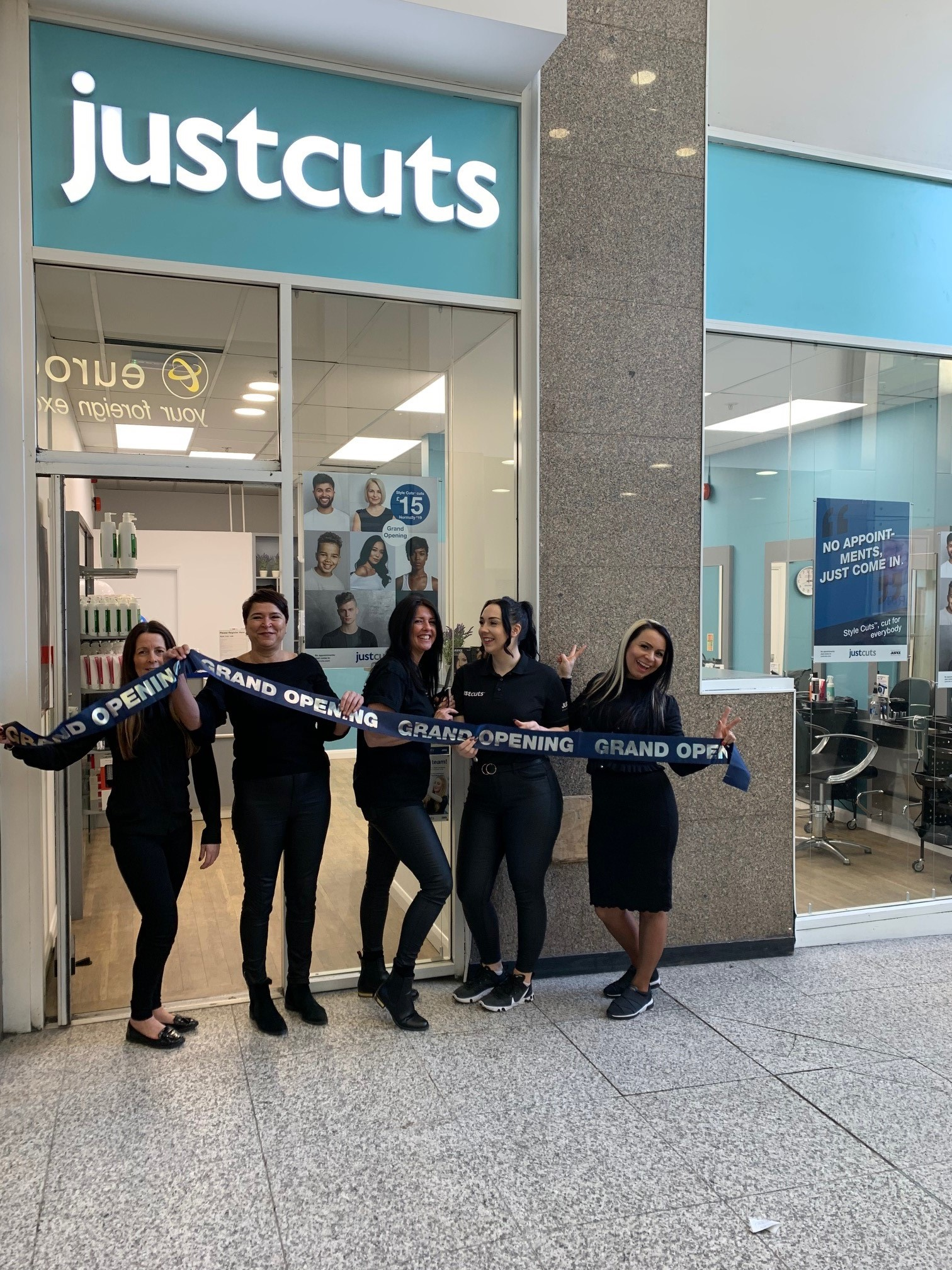 Just Cuts launch